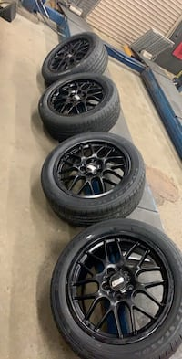BBS CH-R 18x8 rims with brand new Goodyear tires