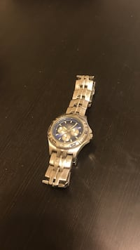 round silver-colored chronograph watch with link bracelet Huntington Beach, 92646