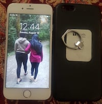 Silver iPhone 6 64gb with case and charger it's in good condition  Vancouver, V5S 1K3