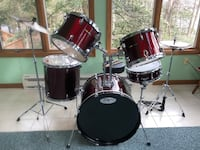 7 piece sound percussion drum set Crownsville