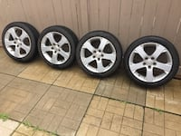 "Set of 4 Pirelli summer Tires on 17"" Mazda OEM Alloy Wheels 205/50/17 Richmond Hill, L4B 4E1"