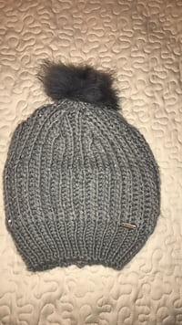 black and gray knit cap Ozark, 65721