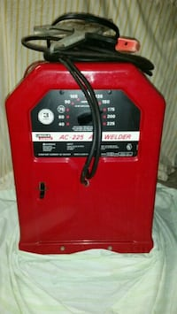 red and black Lincoln Electric welder Wilmington
