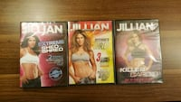 Jillian Michaels DVD Workouts All 3 for $10 Mission, 78572