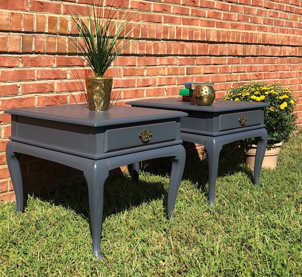 2 large side tables