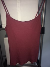 burgundy tank top Langley, V3A 8W4