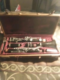 Vintage Boosey & Hawkes Clarinet in original fitted case.