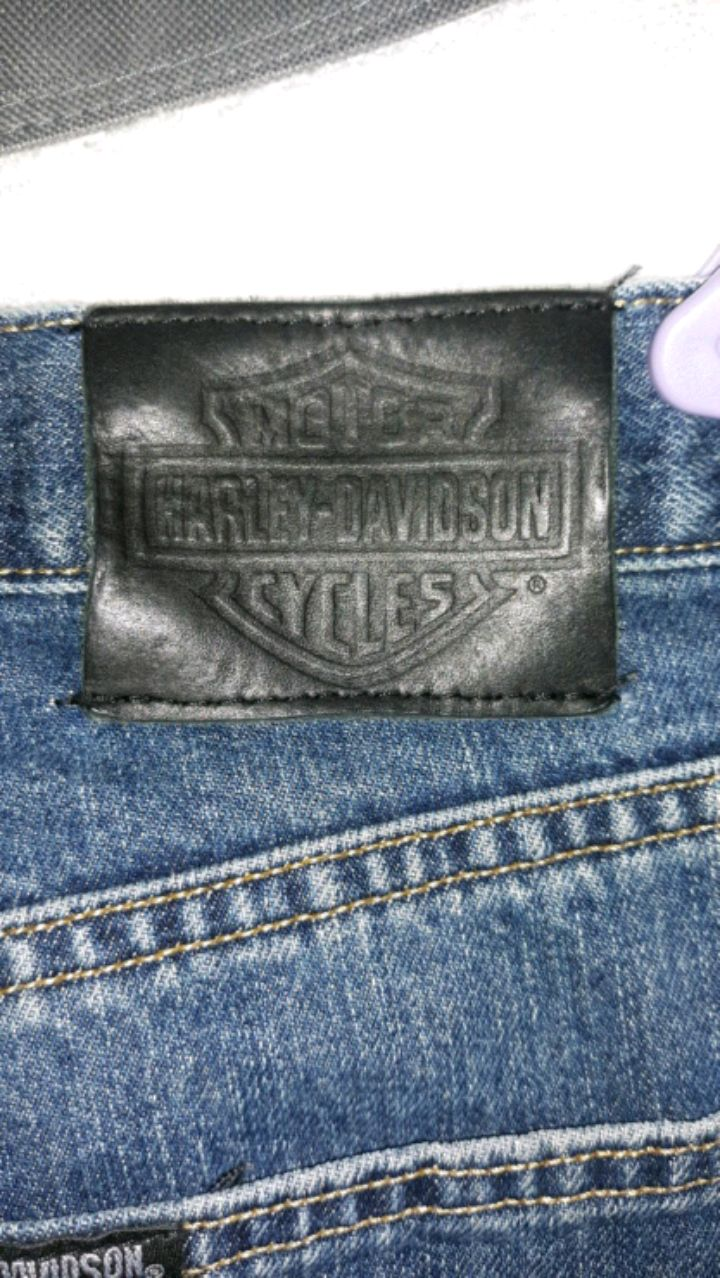 Photo Mens Harley Davidson jeans