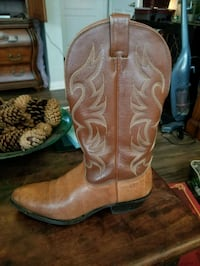 Nocona Brown Leather Boots Men's Size 10.5  Grapevine, 76051