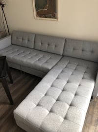 Gray sofa from CB2. Retails for $1999 (Ditto II Sofa) no damage, no stains. Price negotiable if you can come get it before 10/29 Washington, 20002