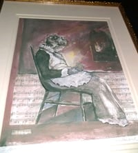 Painting By Grace Rohland Signed