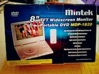 "8"" Widescreen Portable DVD MDP-1820 Covington, 70433"