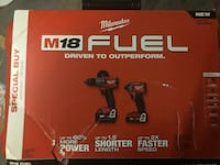 Brand new Fuel M18 Hammer/Impact combo Barrie, L4N 0C2