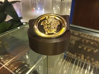 Versace belt with gold buckle  Calgary, T3N 1J1