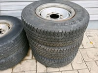 Truck wheels (rims and tires)