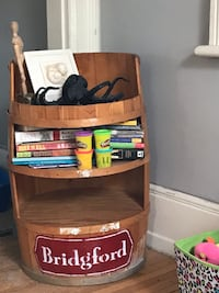 Barrel with built in shelves   Guelph, N1H 3W5