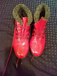 Red Rain Boots Size 10 San Leandro, 94578