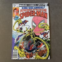 Comic Book: King Size Annual Peter Parker. The Spectacular Spider-Man #1 San Leandro, 94577