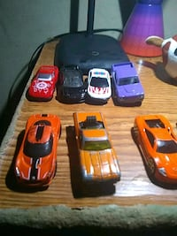 four assorted color car toys Charlotte, 28226
