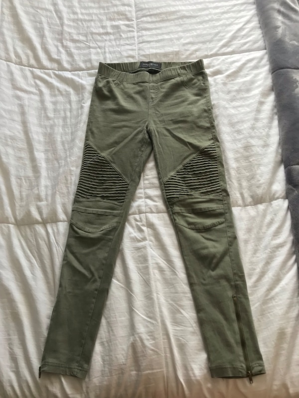 Women's green pants