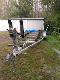 gray and black boat trailer New Port Richey