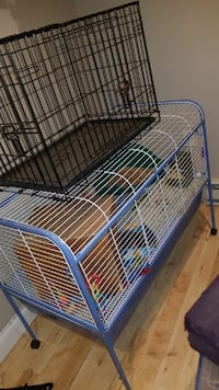 black and white steel pet cages Toms River, 08757