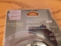 New Modrec Laptop Combo Lock with Base Plate Toronto