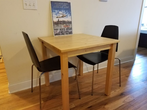 Enjoyable Ikea Norden Solid Beech Wood Dining Table With Chairs Pdpeps Interior Chair Design Pdpepsorg
