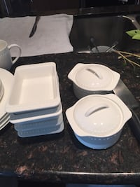 4 piece setting for 4people with extra dishes Calgary, T2Z 2V5