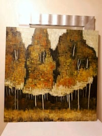 Fall scenery oil painting 3' by 3' Richmond Hill, L4C 3T9