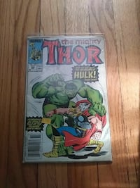The mighty thor vs the incredible hulk