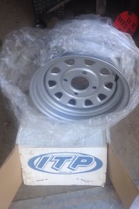 2  I T P steel wheels new in box . Fit Yamaha grizz, 660 -700 4x4. 50.00 each Chambersburg, 17202