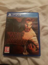 Sony PS4 wolf Among us.