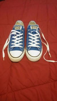 pair of blue Converse All Star low-top sneakers Toronto, M6N