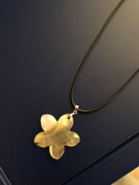 Flower necklace made out of a shell  Andover, 01810