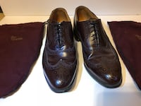 Pair of black leather dress shoes Houston, 77007