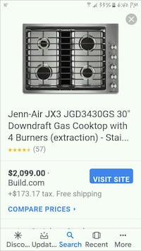Gas Cooktop w/ 4 Burners Upshur County, 75755