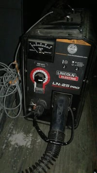 black and red Lincoln Electric welding machine Visalia