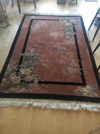 Pink floral Chinese area rug San Francisco, 94107