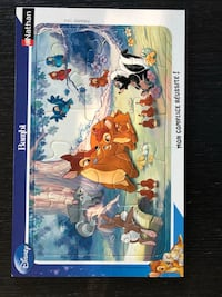 Puzzle for toddlers - Disney