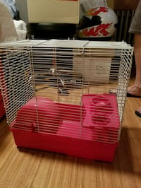 Hamsters cage and food and deodorizing spray  Brooklyn, 11204