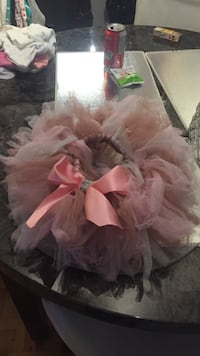 toddler's pink tutu skirt