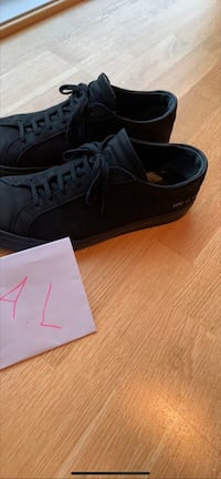 Common projects low achilles black nubuck leather Stavanger, 4015