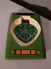 Vintage electronic baseball game..