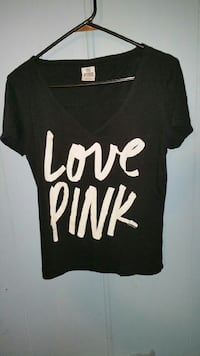 Vs pink new shirt firm on price. Sand Springs