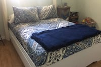 Full size platform bed with 6 drawers Sacramento, 95826