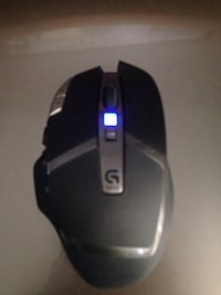 black Logitech gaming wireless computer mouse Burlington, L7R 1K7