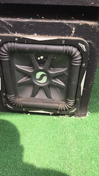 black and gray Kicker subwoofer New York, 11419