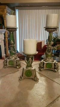 Antique Italian graduated candle holders Barrie, L4N 6C3