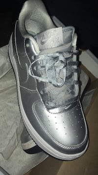 unpaired black and gray Nike Air Force 1 low Providence, 02909